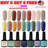 126+ Color UV Gel Nail Polish Set Base Top Coat Soak Off Glitter Salon Nail Art