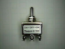 SO Switch Toggle On/On(Momentary) Heavy Duty 20A/125V DPDT 6 lug 702MW, TOOWEI