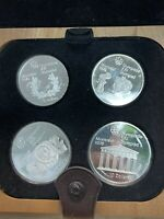 MONTREAL CANADA 1976 OLYMPICS PROOF COIN SETS (8 SILVER COINS) Free Shipping