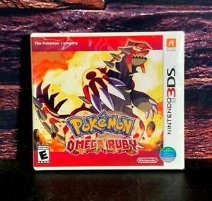Pokemon Omega Ruby 3 DS - Nintendo 3DS - World Edition - Brand New - Sealed