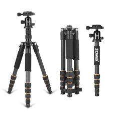 Zomei Q666C CarbonFibre Tripod Monopod Heavy Duty For Video/Camera/Camcorde/DSLR