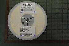 SAMSUNG CERAMIC CAPACITOR 0805 4.7uf 25v X5R CL21A475KACLRKC Low Profile RoHS 4k