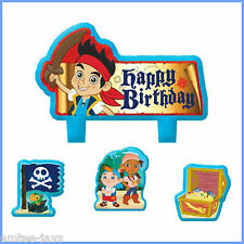 Jake and the Neverland Pirates Candles - Birthday - Moulded Birthday Candles