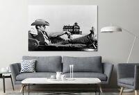 James Dean Actor Cowboy Movie Painting Canvas Print Art Home Decor Wall Art