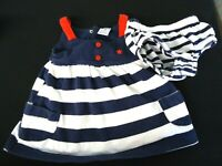 BABY GIRL Dress 4th of July Independence Day Red White Blue Carter's 3 Months