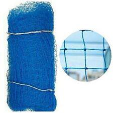 "2 X 1 Cricket Net 100""X 15"" Thick Nylon Dori Blue Temporary Netting For Practice"