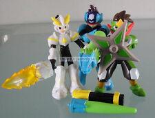 "Lot 5pcs Capcom Mega Man Megaman Rockman Starforce 2 Wendy's 4"" PVC Figures Toys"