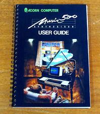 Acorn User Manuals