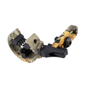 Camouflage Aluminum Brush Arrow Rest for Compound Bow Hunting