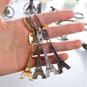 4 Stück Paris Eiffelturm Schlüsselb Taschen Charme Schlüsselring Zubehörteil