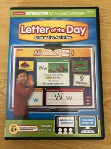 Lakeshore - All About Letters  [CD-ROM] - Interactive Whiteboard Software HH950