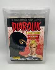 DIABOLIK Il Re del Terrore album sigillato vuoto + set completo figurine Panini