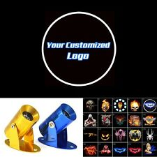Motorcycle Customized Logo Ghost Shadow Spotlight Laser Projector CREE LED Light