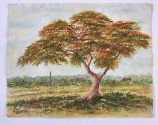 Paisaje De Acrílico Pinturas De Arte Verde Ebay