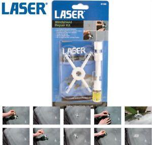 Laser 5198 Car/Van Windscreen/Windshield Glass Chip/Crack Resin Repair Tool Kit