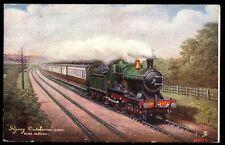 Railway GNR Flying Dutchman near Slough Tuck Oilette # 6493 1905 PPC