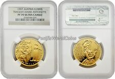 Austria 1997 Tragedy Marie Antoinette 1,000S Gold NGC PF-70 ULTRA CAMEO