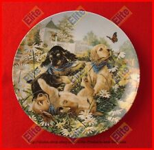 "Little Bandits Collector Plate ""Everythings Coming Up Daisies"" Bradford Exchange"