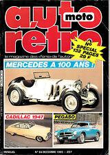 AUTO RETRO.64. CADILLAC 1947. PEGASO Z 102.FORD ANGLIA PERFECT. VINCENT HDR.