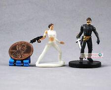 "Hasbro Star Wars 1"" Figure Queen PADME AMIDALA & GENOHARADAN ASSASSIN Knight S98"