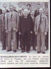 1950  --  MOUILLERON EN PAREDS  LE MAIRE  DE LATTRE PERE   95 ANS  X147
