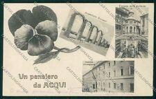 Alessandria Acqui cartolina QK0540