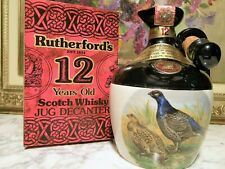 WHISKY – RUTHERFORD'S 12yo cl.70 – 40° PORCELAIN JUG DECANTER RUTHERFORD & Co. L