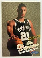 1997-98 TIM DUNCAN Ultra Gold Medallion Rookie #131G, San Antonio Spurs HOF