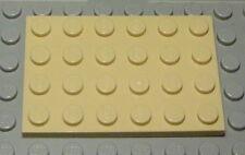 LEGO DISCO 6x10 Beige 2 pezzi 1462
