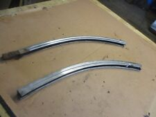 1957 BUICK ROADMASTER COUPE 1/4 GLASS UPPER GUTTER WEATHER STRIP TRIM MOLDING