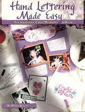Hand Lettering Made Easy by Debra Beagle (2004, Paperback)