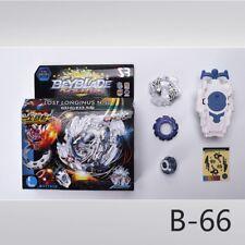 Metal Beyblade Burst B-66 Starter Zeno Launcher Excalibur Gifts For Kids Set
