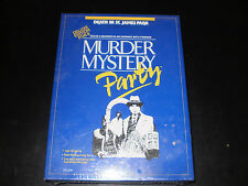 MURDER MYSTERY PARTY GAME UNIVERSITY GAMES  FACTORY SEALED