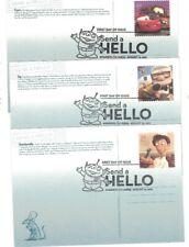 Ux622-626 Send a Hello (Pixar Films) Fdc