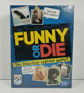Funny Or Die The Hilarious Caption Board Game 2013 Hasbro Gaming