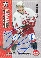 TYLER KENNEDY GREYHOUNDS AUTOGRAPH AUTO 05-06 ITG HEROES & PROSPECTS #284 *22499