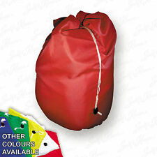 Red Extra Large Heavy Duty Laundry Bag Sack Drawstring Commercial Washable