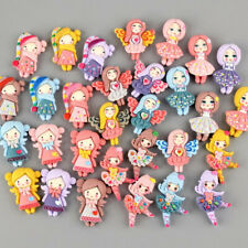 20pc Mixed Cartoon Fashion Resin Girls Flatback Buttons Cabochons Decorations