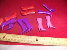 1:6th Scale Barbie, Girl Female Boots Lot