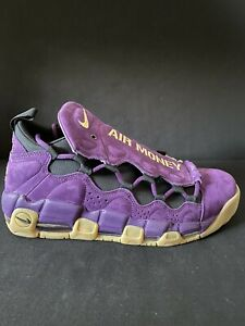 Nike Air More Money NYC Hustle Purple Gum Leopard Size 11 New w/Box AR5401-500