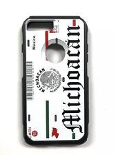 Michoacan Placa Carcasa License Plate Case Cover Iphone 7 8 Plus Hybrid Case