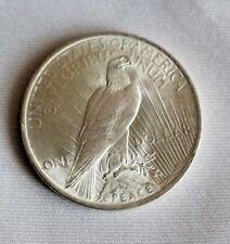 "USA One Dollar Münze - Taler Serie "" Peace ""- Silbertaler 1923"