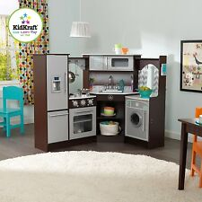 Kidkraft Ultimate Corner Play Kitchen with Sounds and Lights