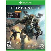 Microsoft Xbox One Titanfall 2 Video Game with Bonus Nitro Scorch Pack DLC