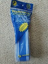 Unopened Wellington Webbing Kit Blue 40 Ft 2 1/4 Inches Wide Screws Included