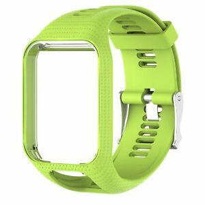 Silicone Wrist Band Strap Bracelet for Tom Spark 3 Runner 2 3 Golfer2 Smartwatch