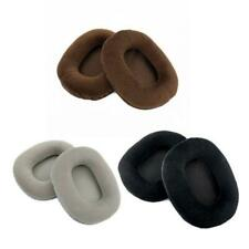 2Pcs Velvet Velour Earpad Earmuff Cushion For ATH-M50 M50S M50X M40 M40S M40X