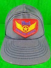 Vintage Bud King Of Beers USA Made Hat Patch Snapback Budweiser Beer Cap