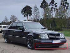 Mercedes W124 C124 AMG front bumper spoiler chin lip addon valance trim DTM E500