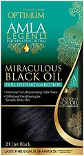 Optimum Care Amla Legend Miraculous Black Oil Dull Defying Hair Color,Jet Blk 21
